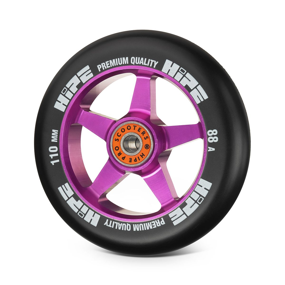 Колесо HIPE H09 110мм purple/black