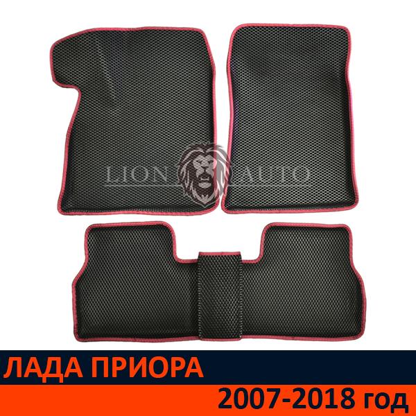EVA коврики 3D на ЛАДА ПРИОРА (2007-2018г)
