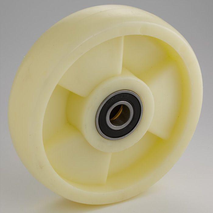Колесо с подш. нейлон 200х50 мм для тележек  гидравлических