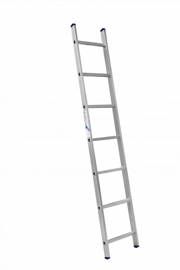 Лестница 1-секционная алюминиевая TOR SC1007  1*7 приставная