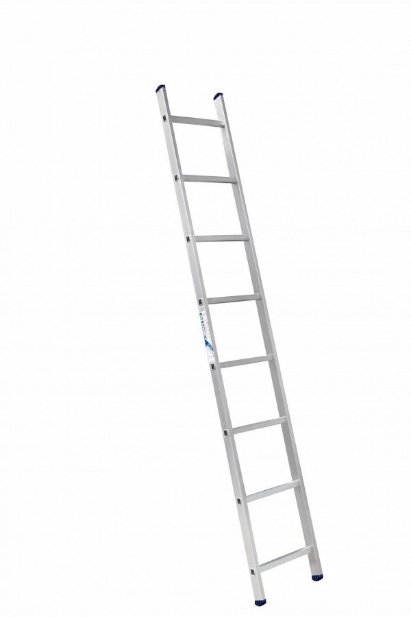 Лестница 1-секционная алюминиевая TOR SC1008  1*8 приставная