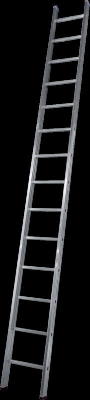 Лестница 1-секционная алюминиевая TOR SC1014  1*14 приставная