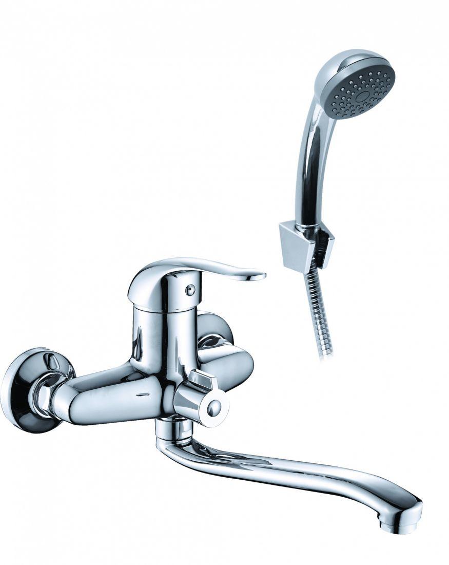 Смеситель для ванны с длинным изливом LIN1600
