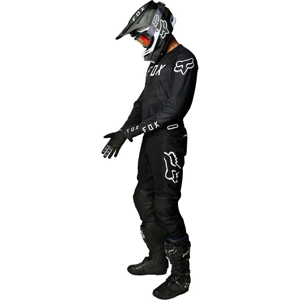 Fox 2021 360 Speyer Black джерси и штаны для мотокросса