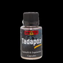 Tadapox (Tadalafil 10 mg + Dapoxetine 30 mg) 10 капсул