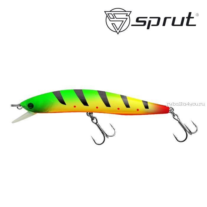 Воблер Sprut Shigu 90F 90 мм / 8,5 гр / Заглубление: 1-1,7 м / цвет: PPJ