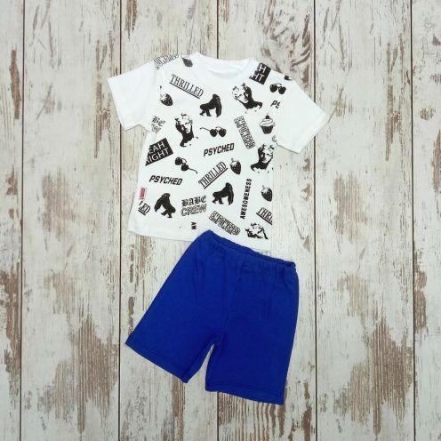 Костюм Baby Crew: футболка, шорты