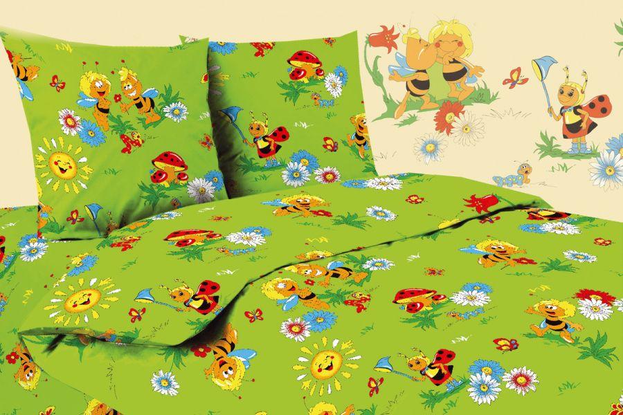Бязь 1.5 спальный [в ассортименте] Павлинка Беби Юниор р. 3622 постельное белье