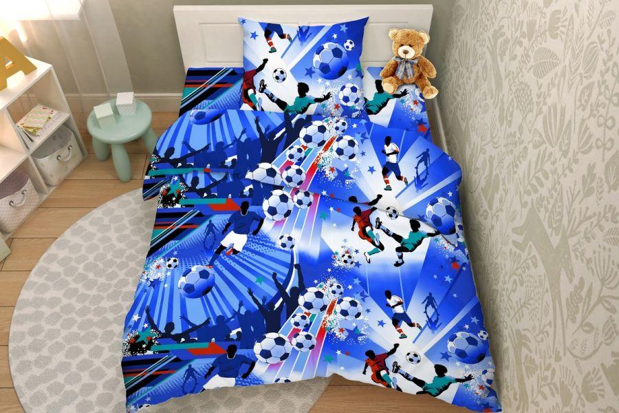 Бязь [синий] Василек 3692/2 Тинейджер постельное белье