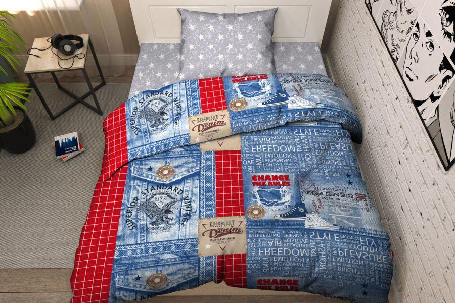 Бязь [джинс] Твой стиль 9341/1 Тинейджер постельное белье
