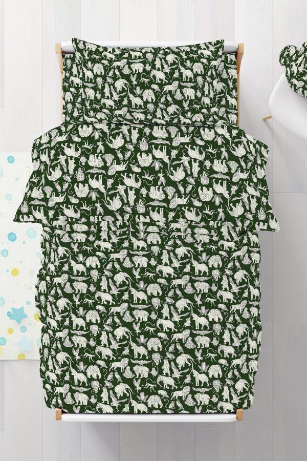 Бязь [зеленый] Акуна Матата постельное белье