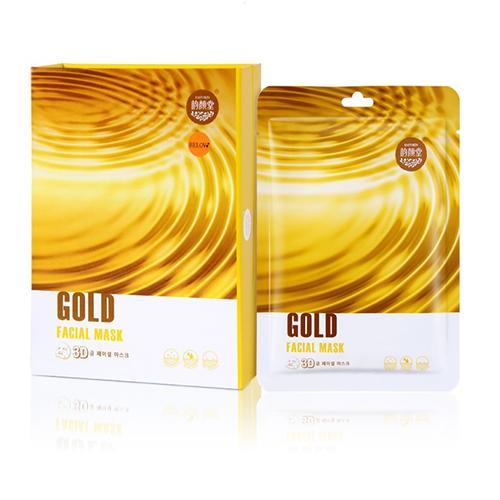 Маска для лица тканевая Золото против морщин Belov 38 гр