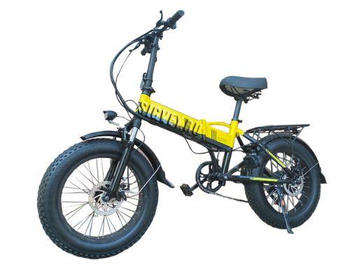 Электровелосипед Big G1 2021 Желтый