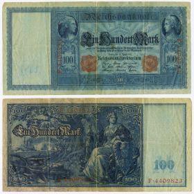 Германия - 100 марок 1910 год (Германская империя)