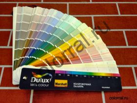 Каталог цветов Dulux Trade