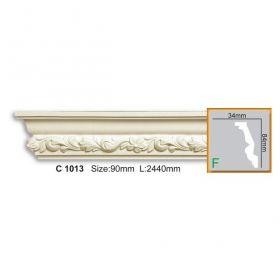 Потолочный Плинтус С Рисунком Fabello Decor С 1013 Д244хВ8.4хТ3.4 см / Фабелло Декор