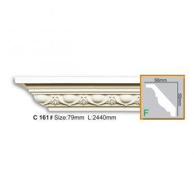 Потолочный Плинтус С Рисунком Fabello Decor С 161 Flex Д244хВ5.6хТ5.6 см / Фабелло Декор