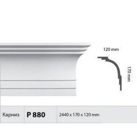 Потолочный Плинтус Fabello Decor Р 880 Д244хВ17хТ12 см / Фабелло Декор