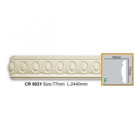 Молдинг Гладкий Fabello Decor CR602 Flex Д244хВ7,7хТ2 см / Фабелло Декор