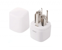 Набор Xiaomi Nextool Nail Clipper Set, серебристый, 5 предметов