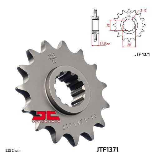 Звезда ведущая JTF1371.15