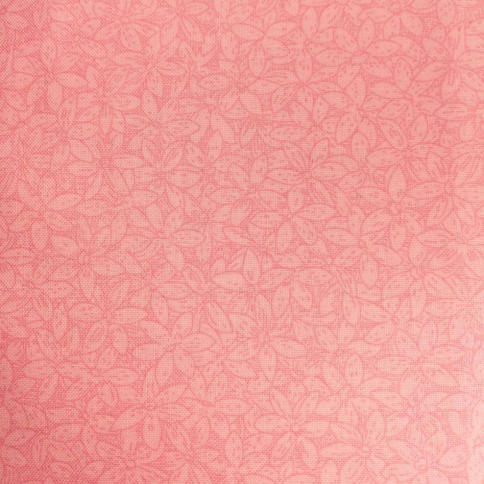 фото Ткань отрез 50 см х55 см из серии Petals (Лепестки) MAKOWER UK Великобритания 799 розовый