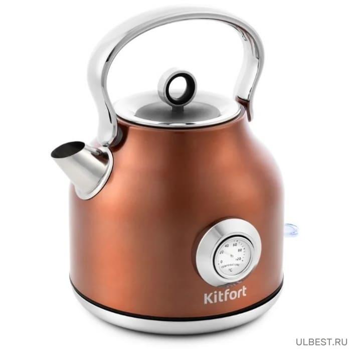 Чайник KitFort KT-673-5 бронзовый