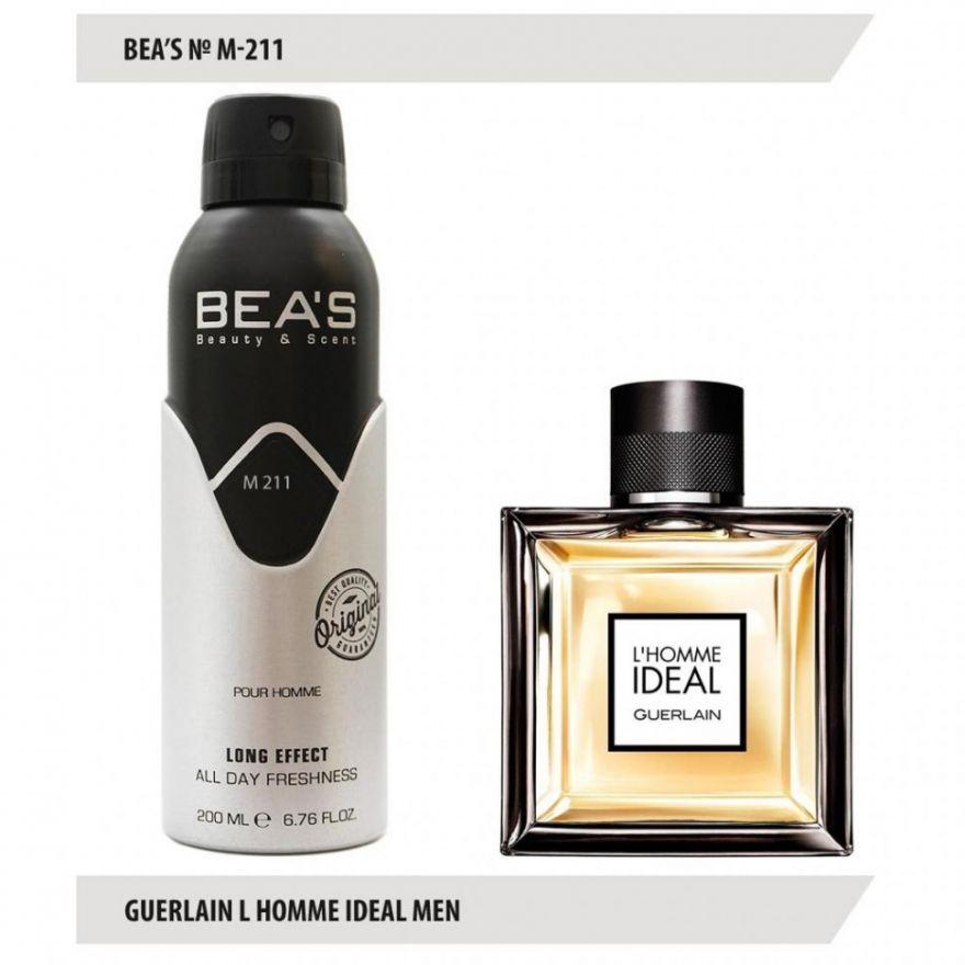 Дезодорант BEA'S M 211 - Guerlain L'Homme Ideal For Men 200мл