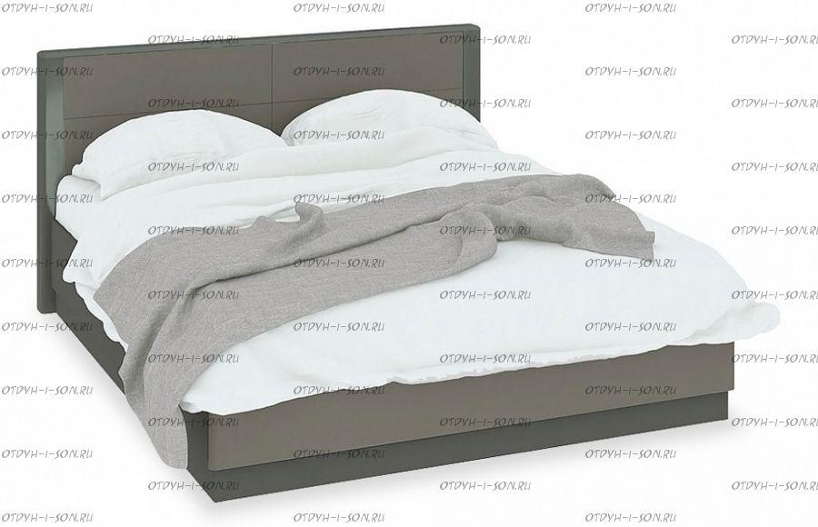 Кровать Наоми СМ-208.01.02 с подъемным механизмом (160) Фон серый, Джут