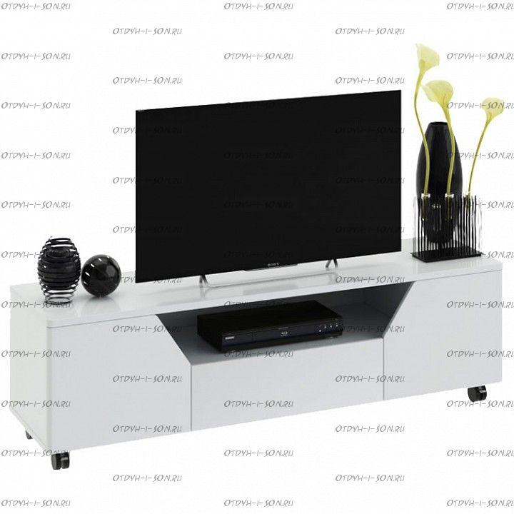 Тумба Diamond ТВ тип 4 Белый глянец