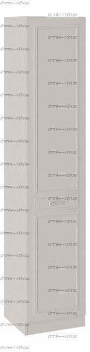 Шкаф для белья с 1 глухой дверью левый Сабрина (Кашемир) СМ-307.07.210L