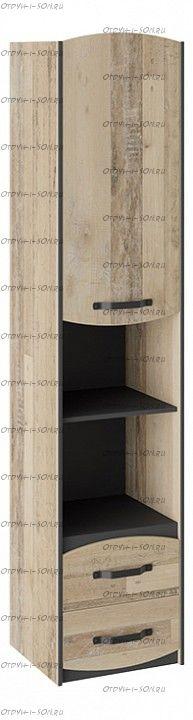 Шкаф комбинированный Кристофер ТД-328.07.20 Фон Серый/Олд Стайл