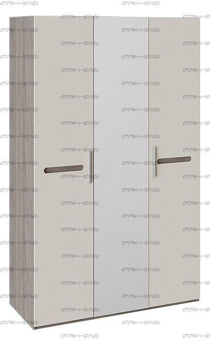 Шкаф комбинированный Фьюжн ТД-260.07.43 (с 3 дверями) Бежевый, Дуб Сонома трюфель