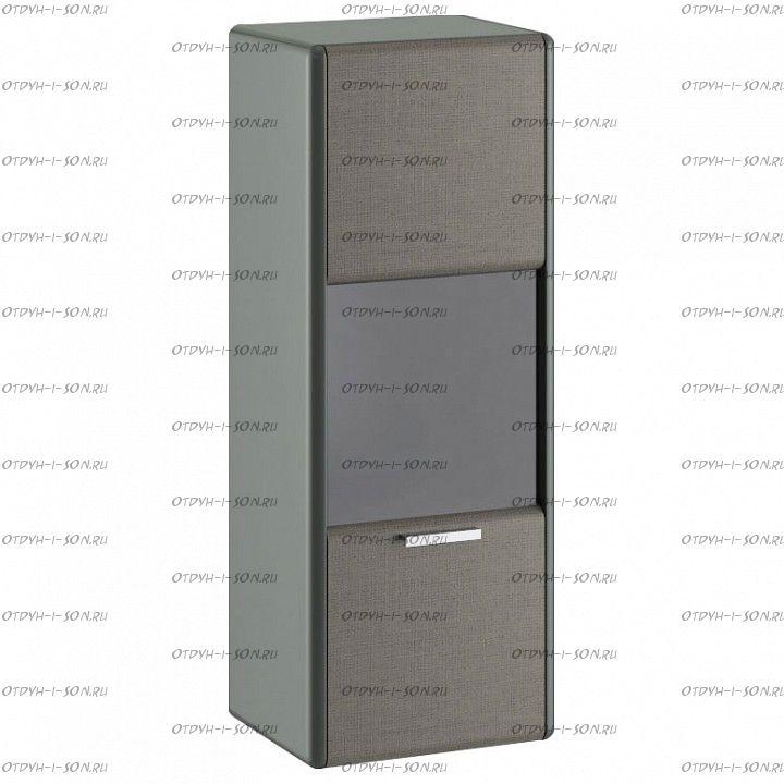 Шкаф настенный Наоми ТД-208.07.27 Джут, Фон серый