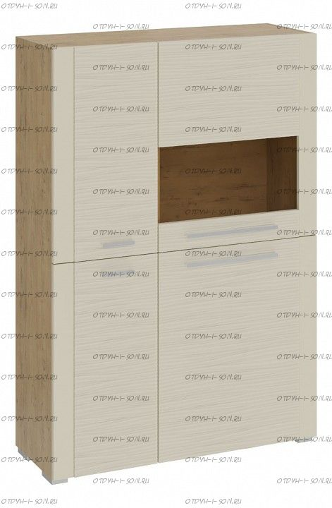 Шкаф с 4 дверями Николь ТД-296.07.29 Бунратти/Фон Бежевый