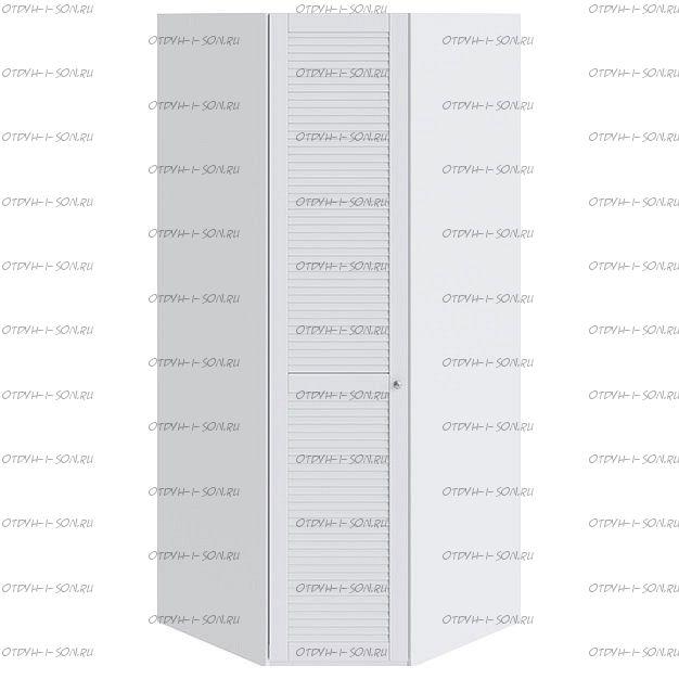 Шкаф угловой Ривьера СМ 241.07.003 L с 1-й дверью Белый
