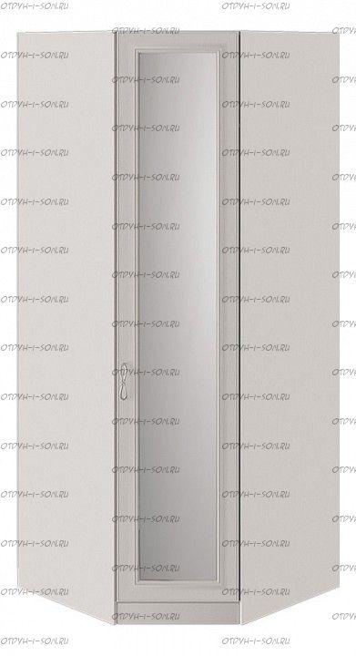 Шкаф угловой Сабрина СМ-307.07.031 с 1 зеркальной дверью Кашемир