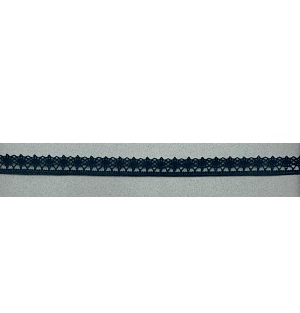 Кружево вязаное IEMESA  ширина 12 мм. черный Испания (3267.14)