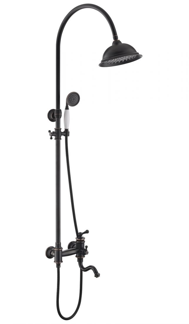 Душевая система Timo Adelia 3-х режимная (SX-6010/04 black antique)