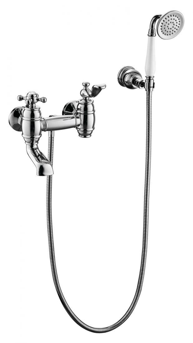 Смеситель для ванны с душем Timo Lina (7034/00Y chrome)