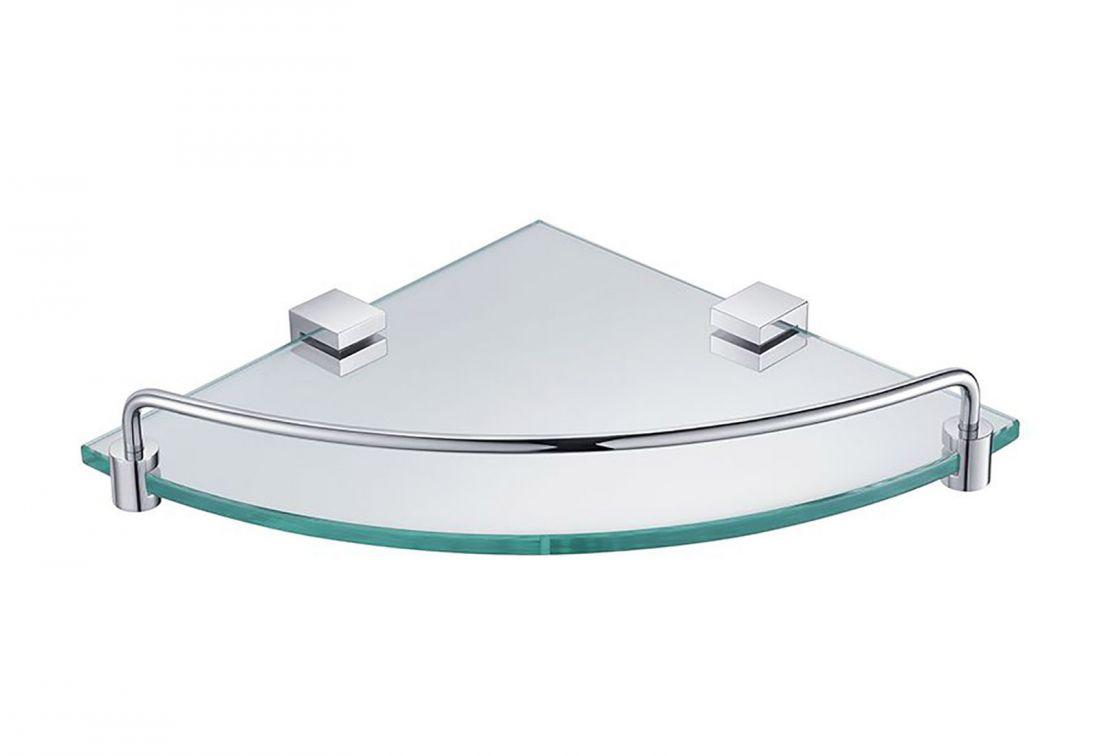 Полка стеклянная угловая Timo Selene (10073/00)