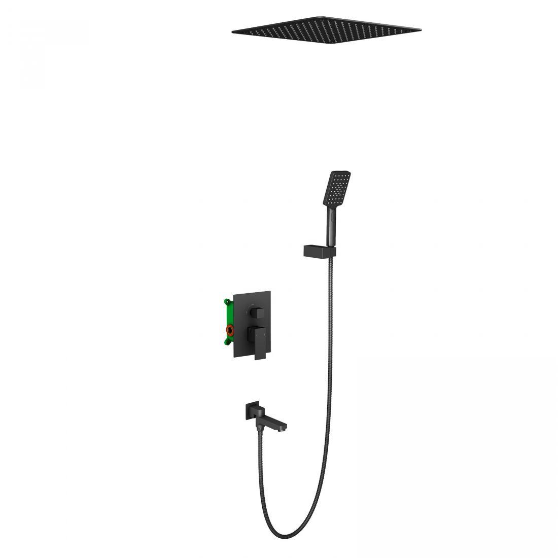 Душевая система встроенная Timo Selene (SX-2039/03SM) черный