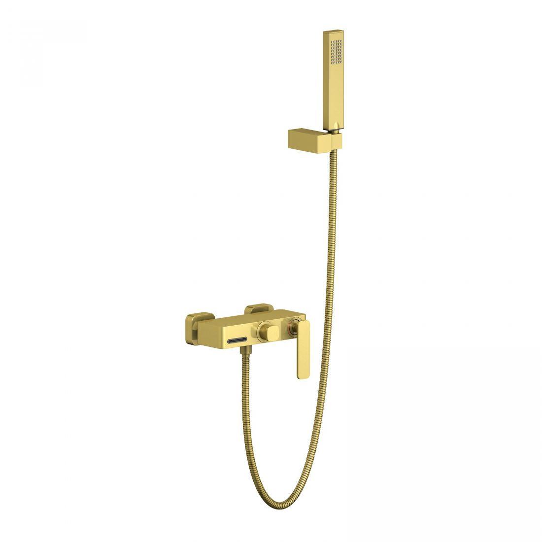 Смеситель для ванны с душем Timo Torne (4314/17Y) золото матовое