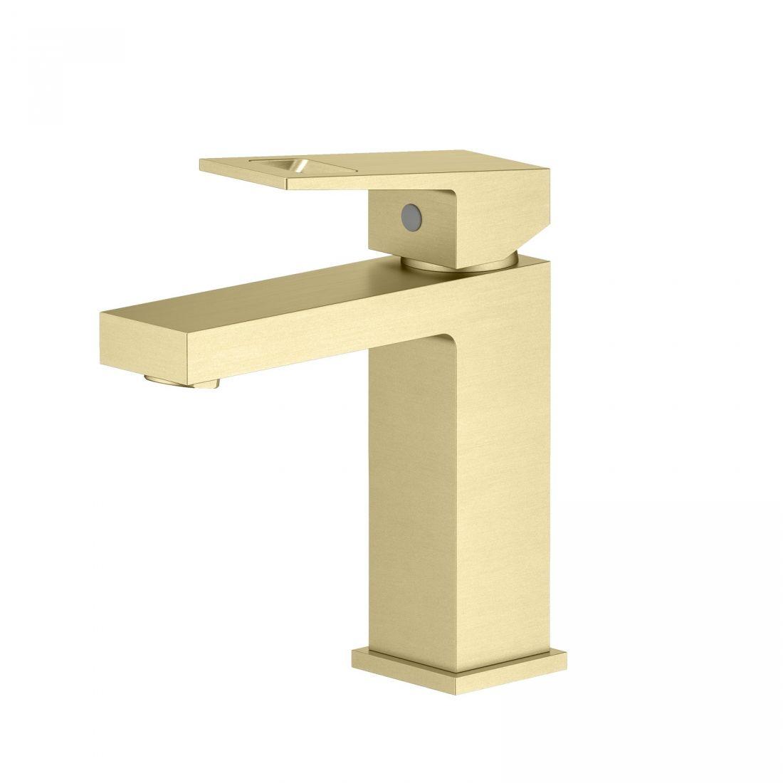 Смеситель для раковины Timo Briana (7161/17F) золото матовое