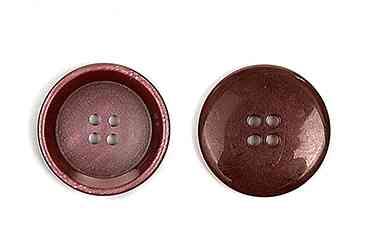 Пуговицы костюмные пластик 4 прокола цвет 05 бордовый диаметры 15 мм и 20 мм (CX K-67.01)