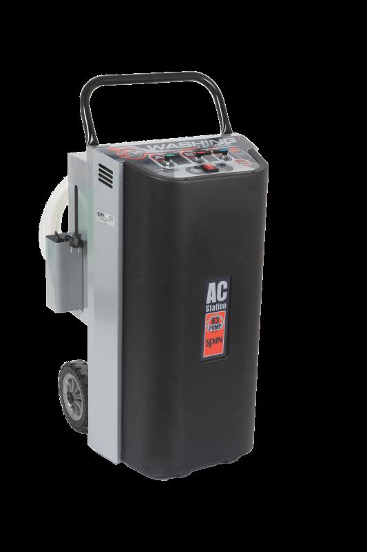 Установка передвижная для промывки систем кондиционирования сольвентом с ёмкостью 30 л, 220 В