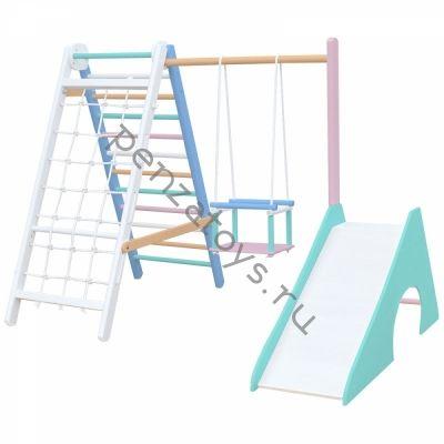 Спортивный комплекс для малышей ДСК Karussell Mini-3