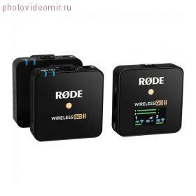 Беcпроводная радиосистема Rode Wireless GO II