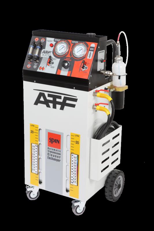 ATF 3000 PRO- установка для промывки и замены масла в АКПП всех типов, ручное управление