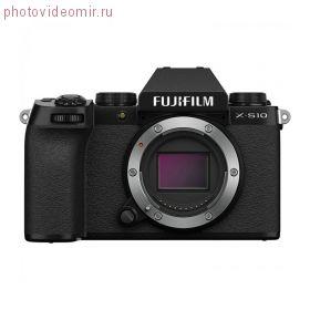 Цифровая фотокамера Fujifilm X-S10 Body Black